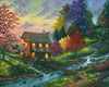 Autumn at the Mill country art Art by Kim Hight