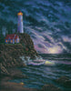 Beacon of Hope lighthouse painting by Kim Hight