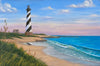 Cape Hatteras ocean painting on canvas by Kim Hight