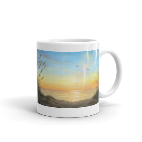 """Golden Sunset"" Coffee Mug"