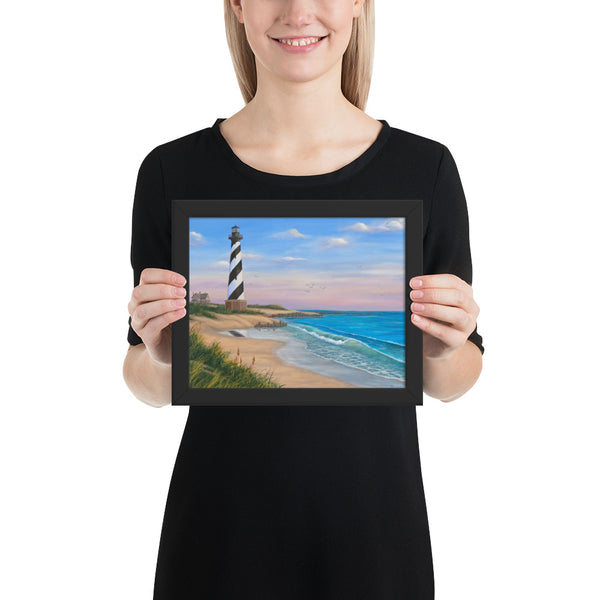 Cape Hatteras framed art prints 8x10 by Kim Hight