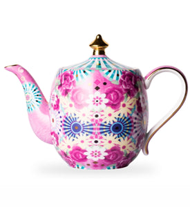 T2- Eleganza Small Teapot Flamingo