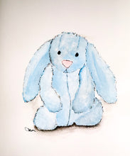 Load image into Gallery viewer, Jellycat Watercolour Prints- A4