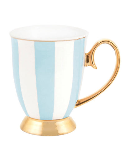Cristina Re Mug Stripes- Powder Blue