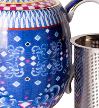Load image into Gallery viewer, T2- Eleganza small Tea Pot Cobalt