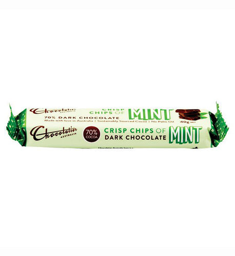 Chocolatier Dark Chocolate Mint Bar 40g
