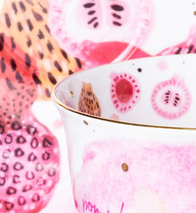 T2- Fruity Cup and Saucer Pump up the Pom