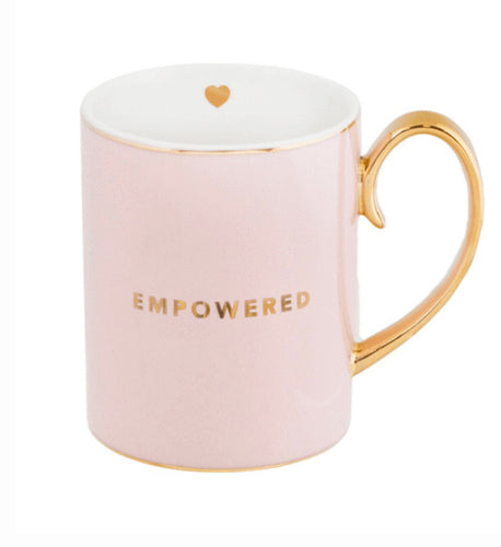 Cristina Re Mug- Empowered, Blush