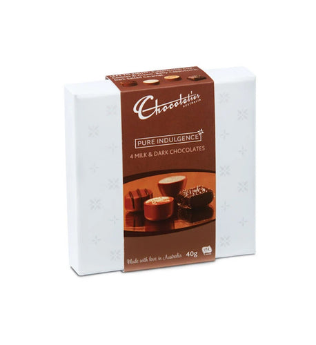 Chocolatier Pure Indulgence Assortment 40g Box