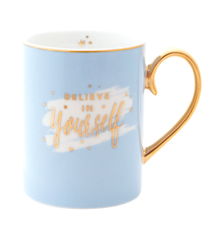 Cristina Re Mug Blu- Believe in Yourself