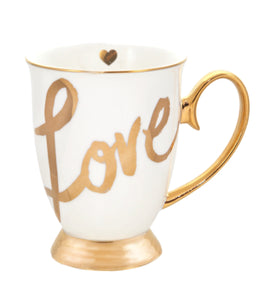 Cristina Re Mug white- Love