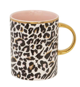 Cristina Re Mug- Safari Leopard