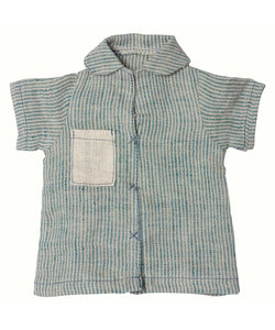 Maileg Shirt Blue Stripe Medium