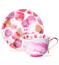 Load image into Gallery viewer, T2- Fruity Cup and Saucer Pump up the Pom