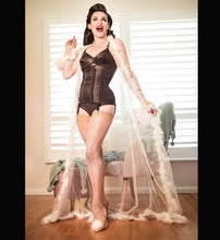 Load image into Gallery viewer, Miss Gypsy Rose Sheer Floor-length Robe