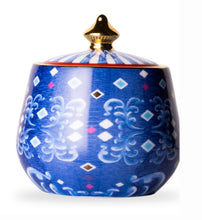 Load image into Gallery viewer, T2 Eleganza Sugar Bowl Cobalt