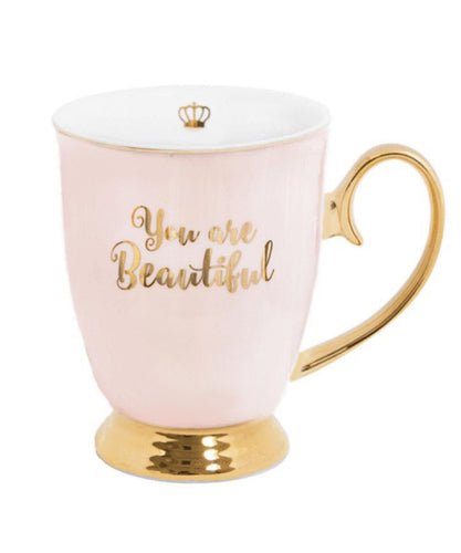 Cristina Re Mug- You Are Beautiful Blush