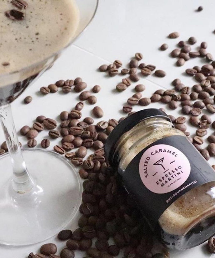 Melbourne Martini- Salted Caramel Espresso Martini 110ml (contains alcohol)