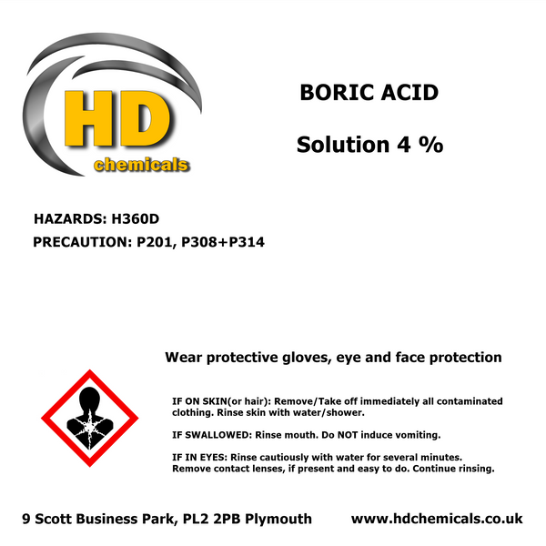 Boric Acid Solution 4%
