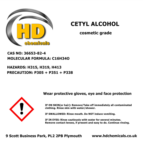 Cetyl Alcohol / Hexadecan-1-ol