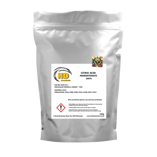 Citric Acid Monohydrate 100%