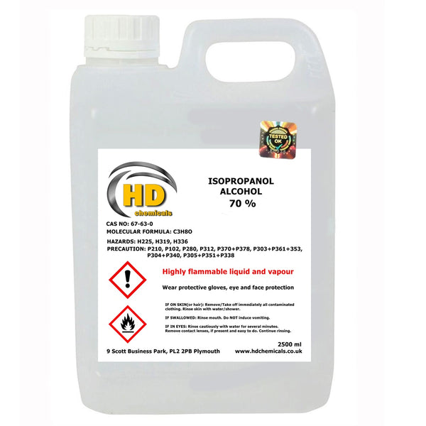 IPA Isopropyl Alcohol 70%