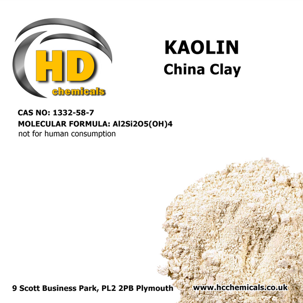 Kaolin China Clay Powder 100% Pure