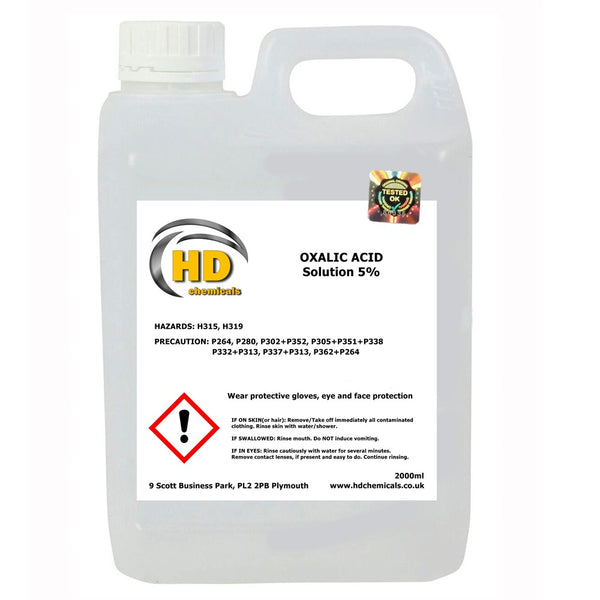 Oxalic Acid 5% Solution