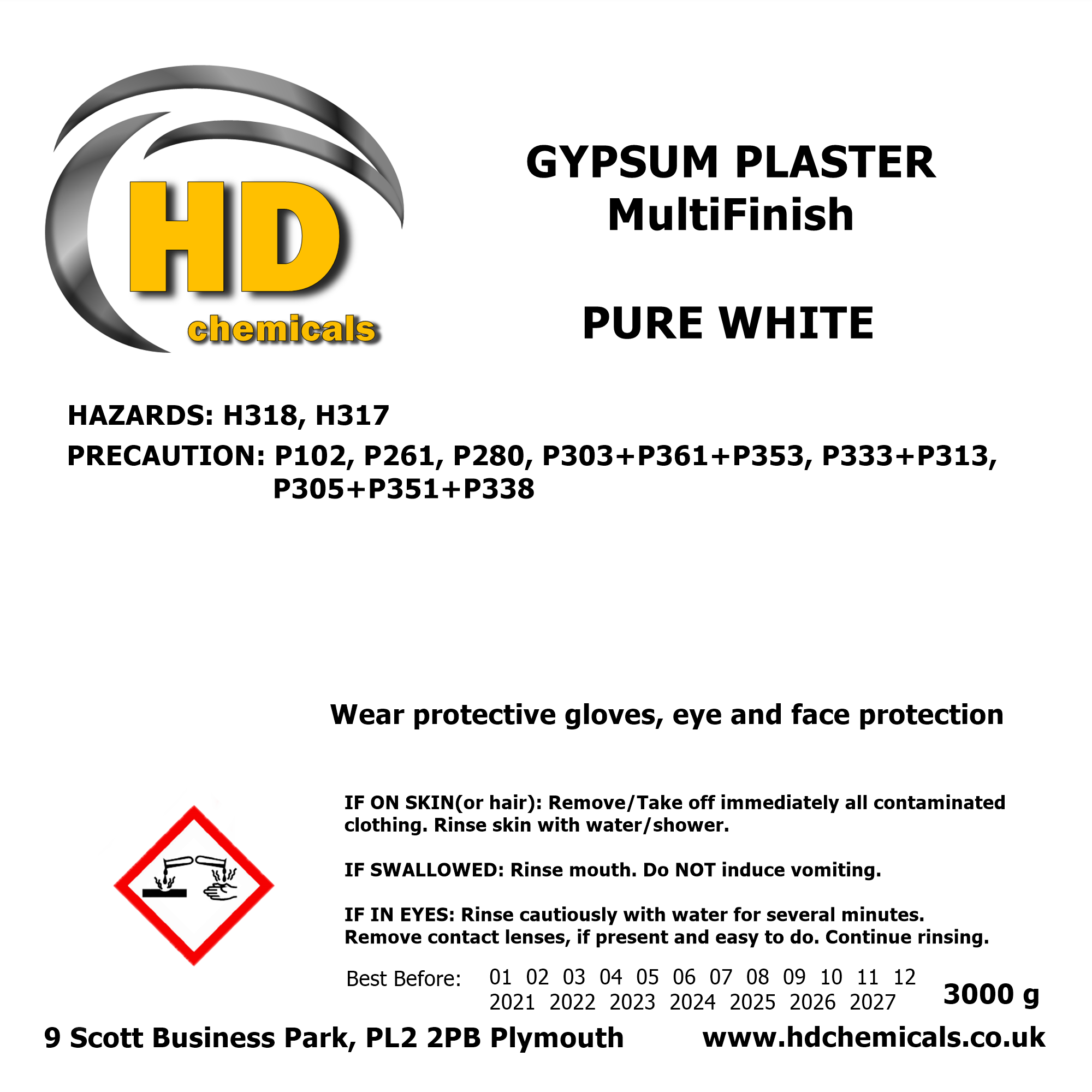 Multi Finish Gypsum Plaster