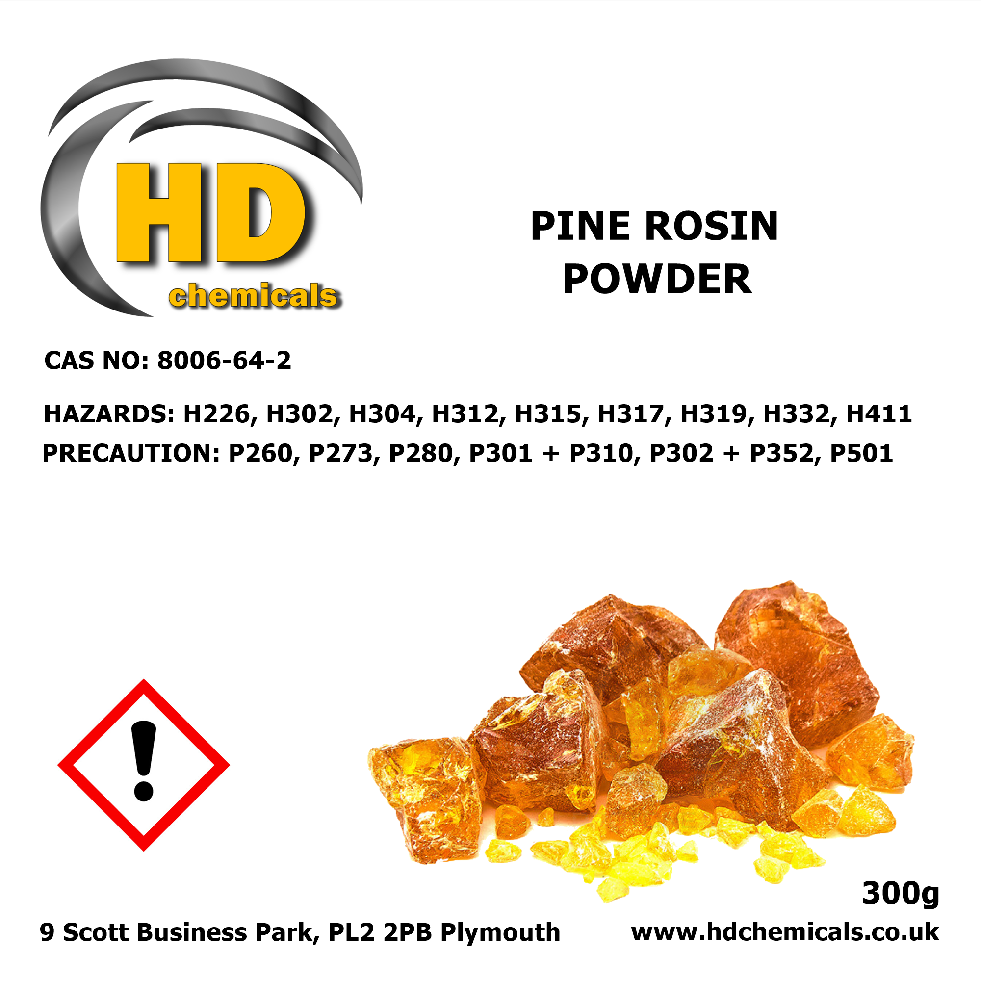 Natural Powdered Pine Resin