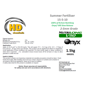 15-5-10 Summer Fertiliser