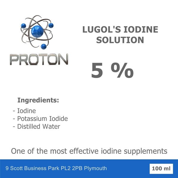 Lugol's Iodine Solution 5% - 15% 100ml