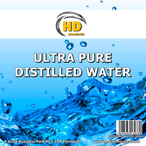 Ultra Pure Distilled Water