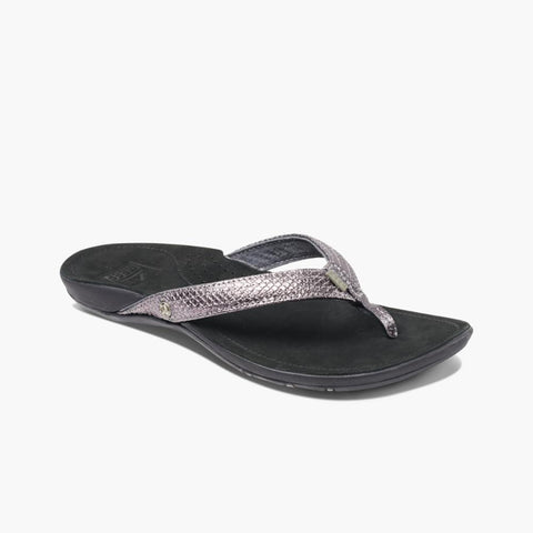 Reef Women MISS J-BAY BLACK/SILVER