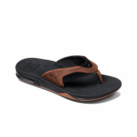 Reef Men LEATHER FANNING BLACK/BRONZE