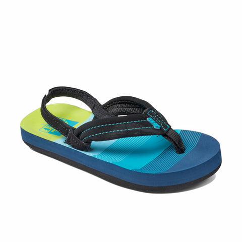 Reef Kids LITTLE AHI AQUA/GREEN