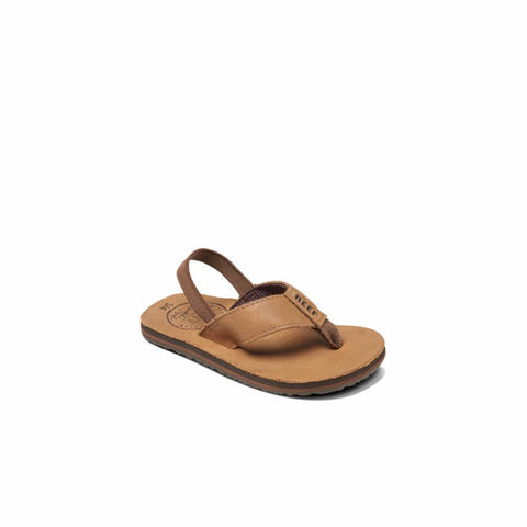 Reef Kids LITTLE LEATHER SMOOTHY BRONZE BROWN