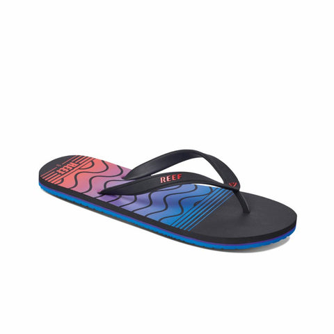 Reef Men REEF SWITCHFOOT PRINTS ROYAL/SWELLULAR