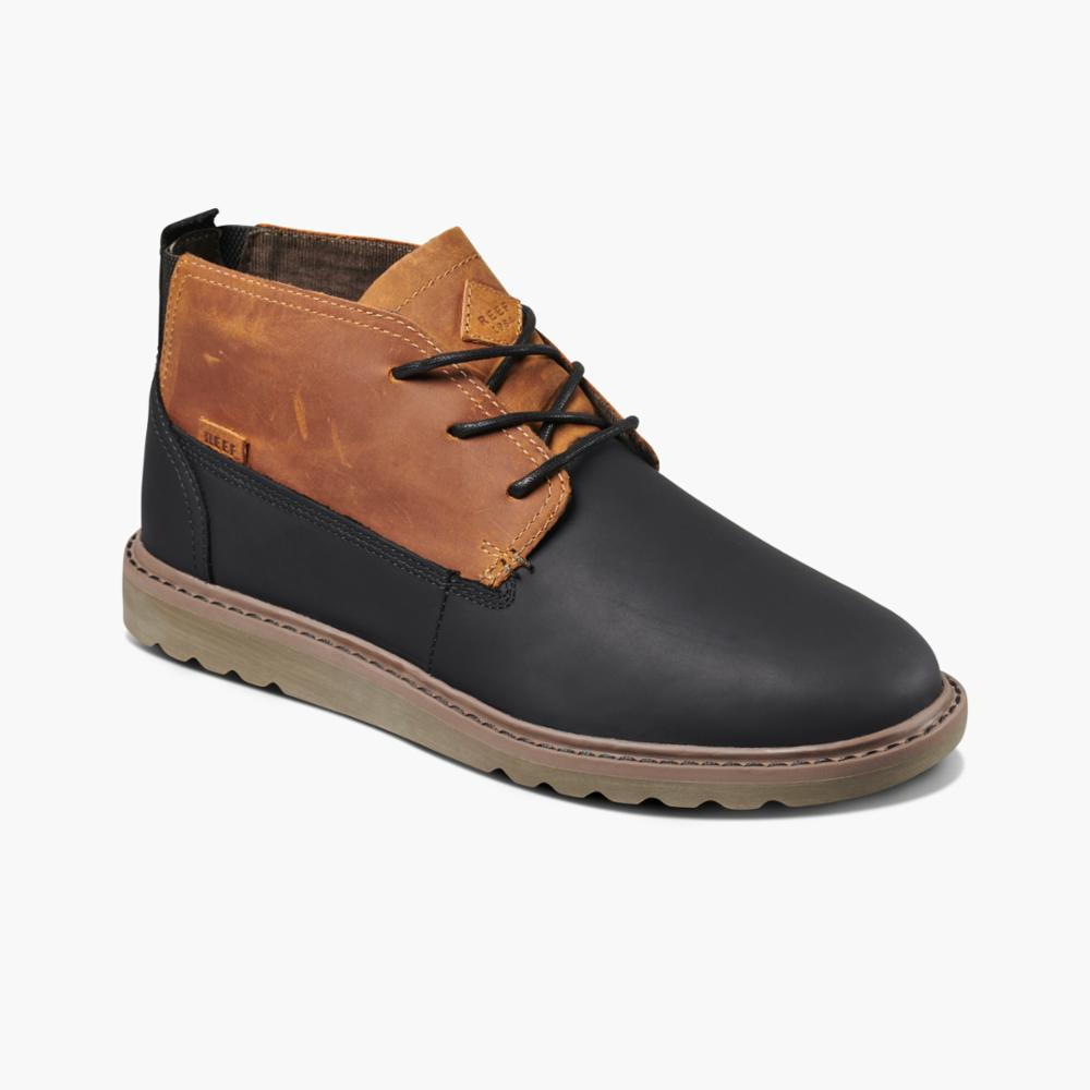 Reef Men REEF VOYAGE BOOT LE TAN/BLACK