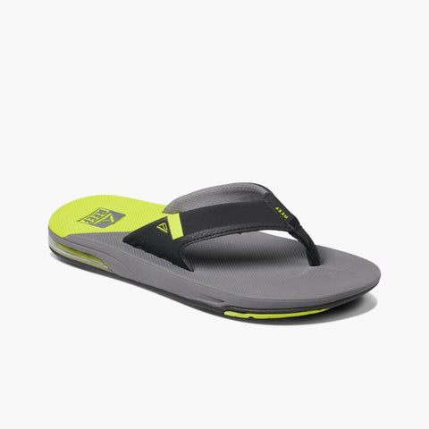 Reef Men FANNING LOW GREY/LIME