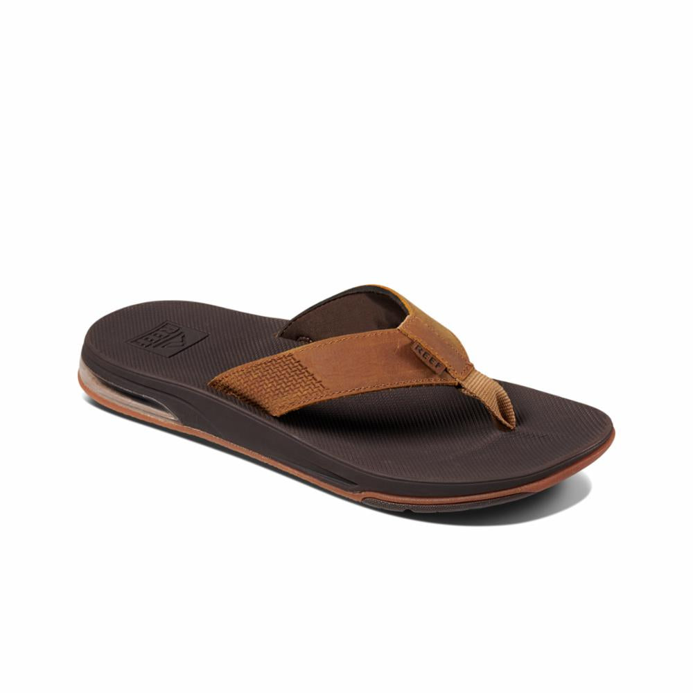 Reef Men LEATHER FANNING LOW BROWN