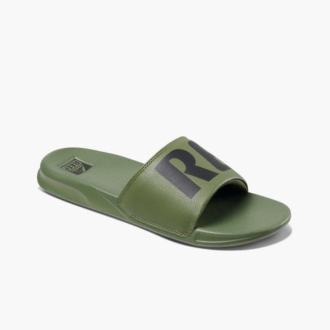 Reef Men REEF ONE SLIDE OLIVE