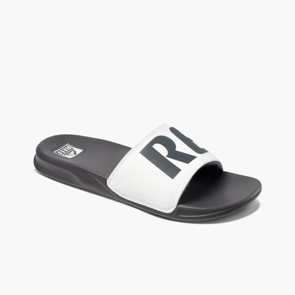 Reef Men REEF ONE SLIDE GREY/WHITE