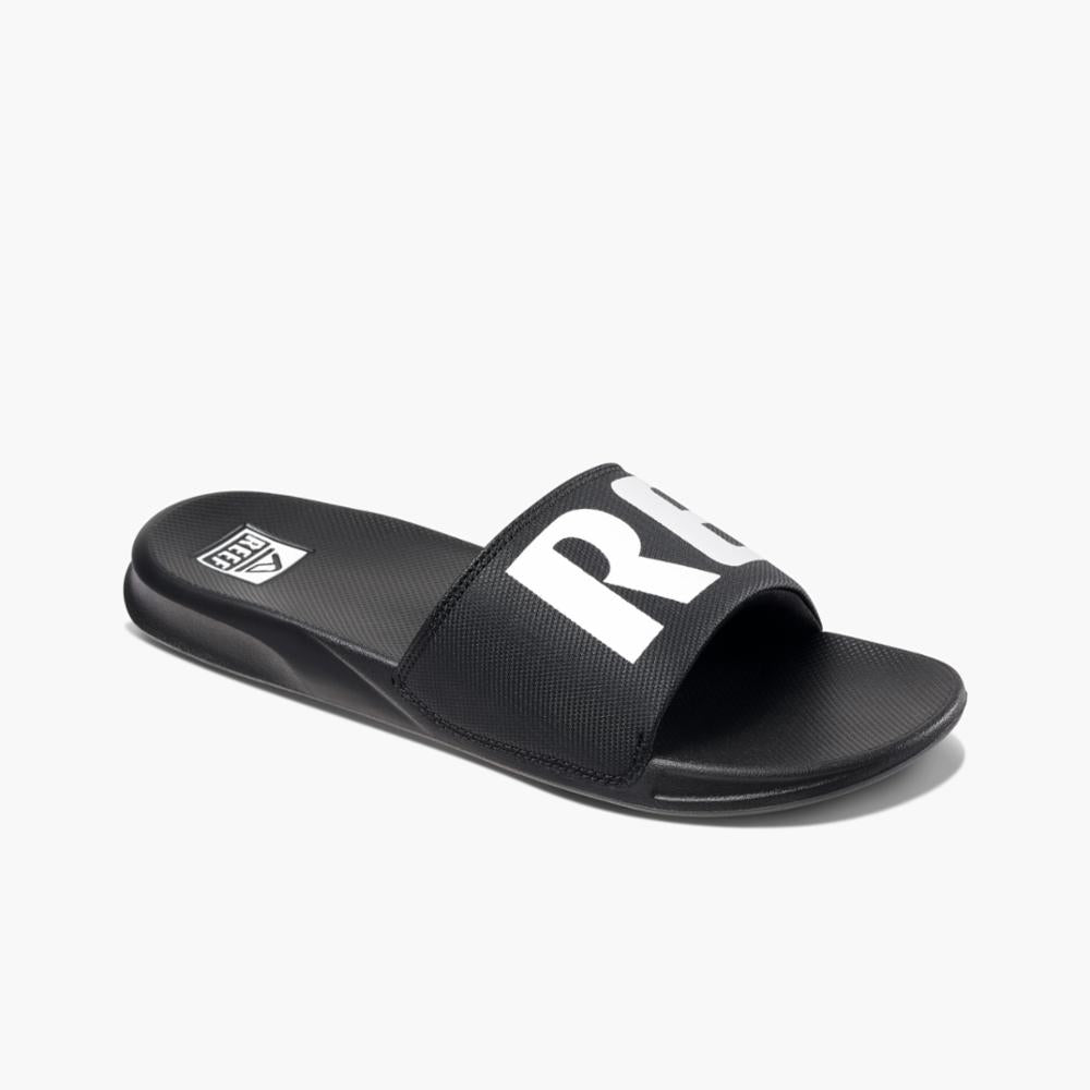 Reef Men REEF ONE SLIDE BLACK/WHTIE
