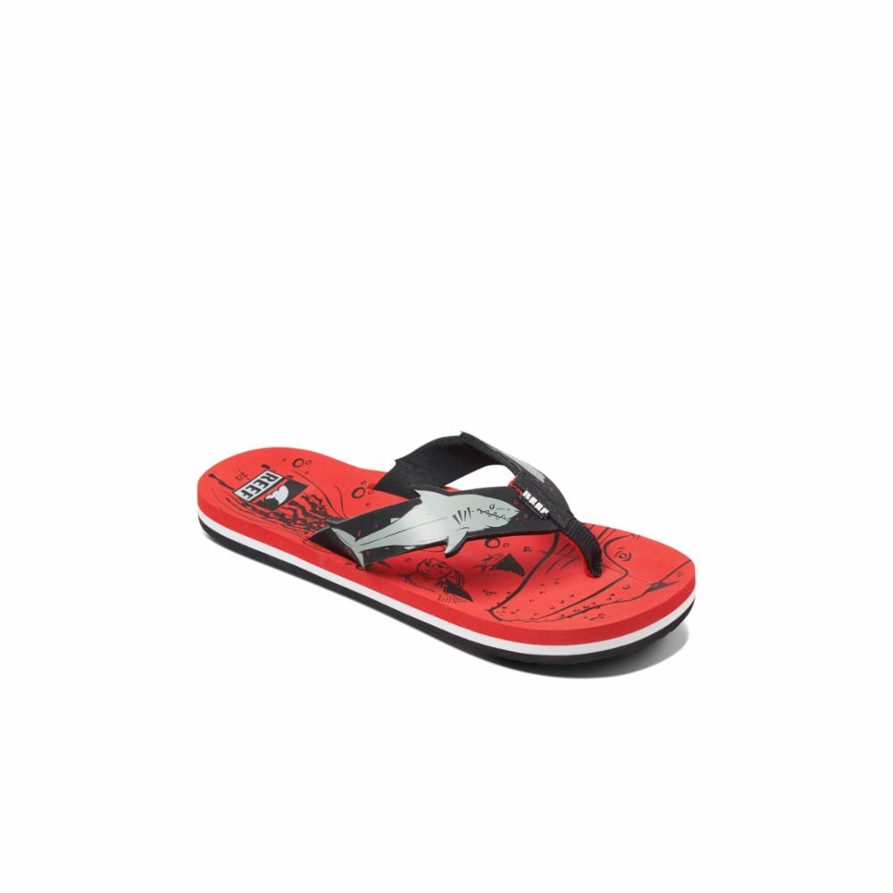 Reef Kids KIDS AHI SHARK RED SHARK