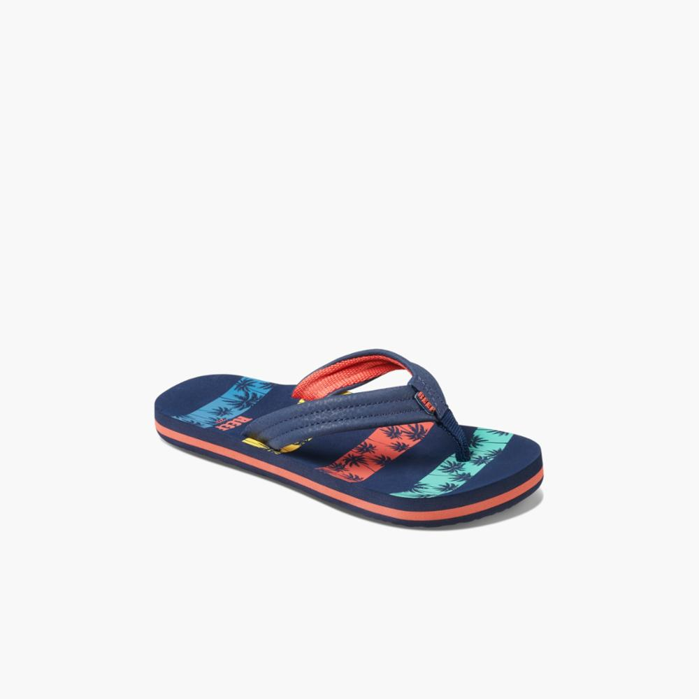 Reef Kids KIDS AHI NVY PALMS STRIPE