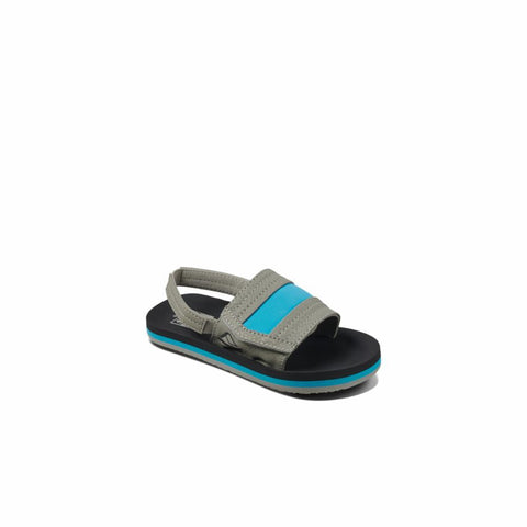 Reef Kids LITTLE AHI SLIDE GREY/BLUE
