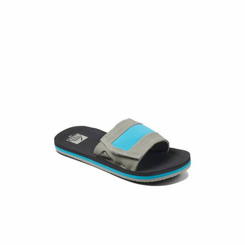 Reef Kids KIDS AHI SLIDE GREY/BLUE