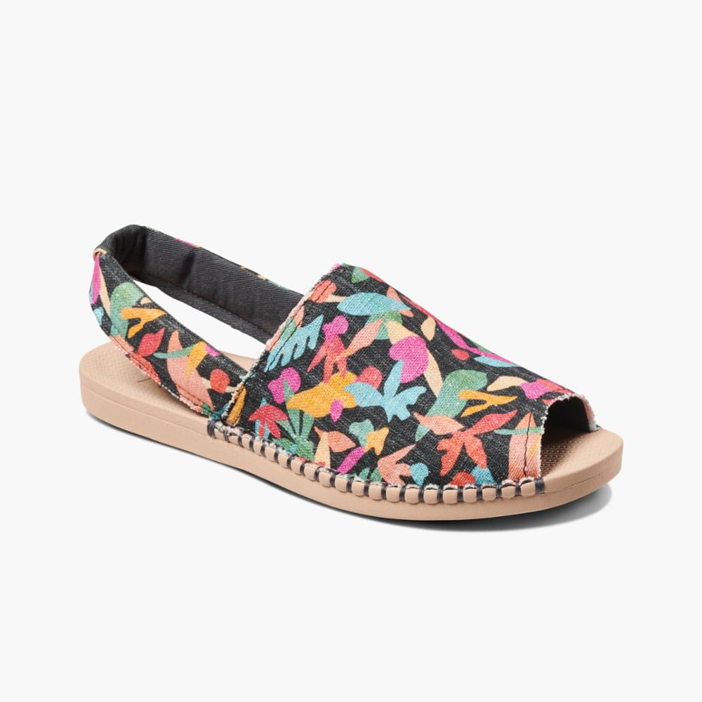 Reef Women REEF ESCAPE SLING PRINTS BLK/TROPICOLOR