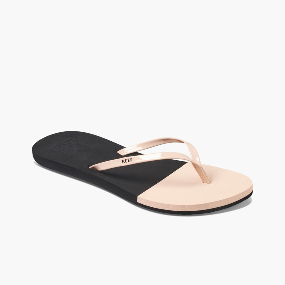 Reef Women BLISS TOE DIP BLACK/NUDE
